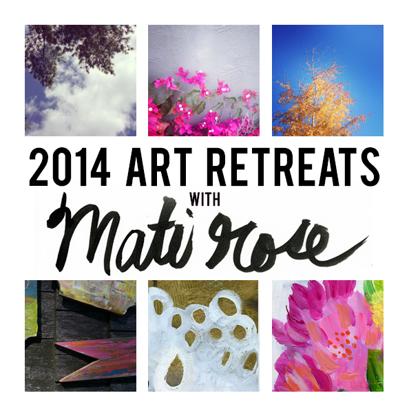 2014 art retreats